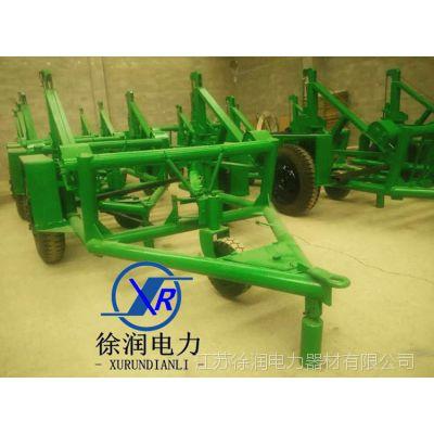 电缆拖车 液压电缆放线车 多功能放线拖车 线缆拖车 电线盘拖车