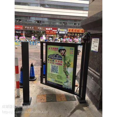 代理加盟 电动广告门一体机 py-ytm-120 小区人行通道闸 蓬远