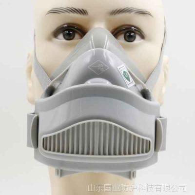 山东无毒硅胶防粉尘雾霾面具
