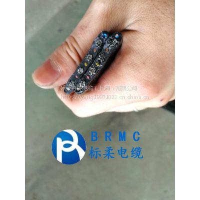 水密防水扁电缆 加钢丝聚氨酯扁电缆