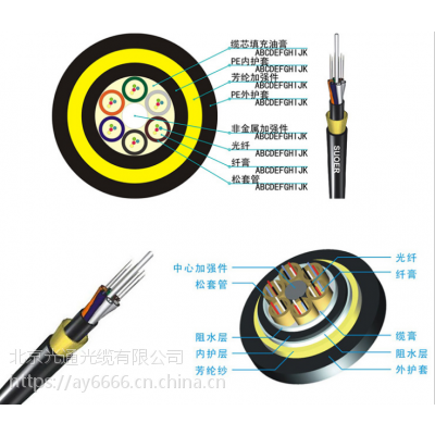 哈尔滨ADSS厂家直销ADSS-48b1电力光缆