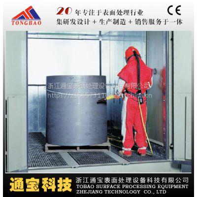 浙江通宝专业生产TB-SF1064P 风力全自动喷砂房