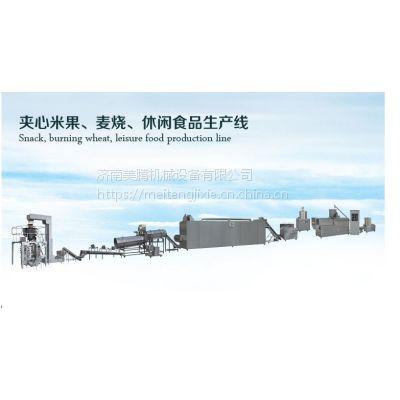 台湾米饼生产线厂家现货,能量棒米果酥休想膨化小食品生产设备,双螺杆食品膨化机哪里卖