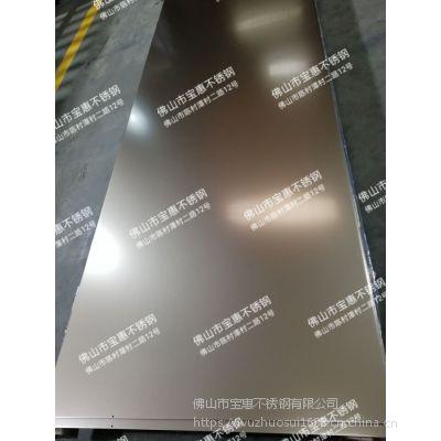 南京304装饰古铜喷砂板不锈钢、电梯板材 江苏甬金