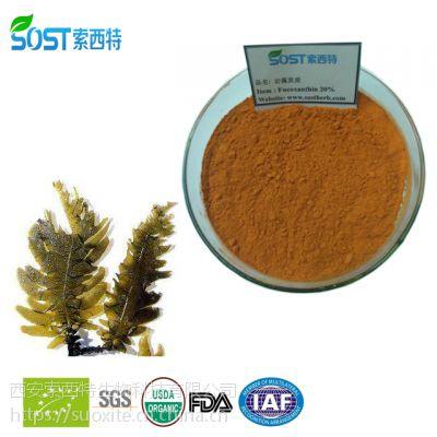 岩藻黄质 西安索西特生物规格 现货供应 海带提取物 褐藻素