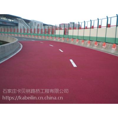 石家庄彩色陶瓷防滑路面