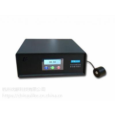 PM-2000多功能光度计、照度计、亮度计、光通量测试仪、杭州优睐科技