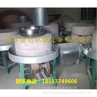 仿古面粉石磨机工艺 电动石磨机便宜好用 鼎达质保