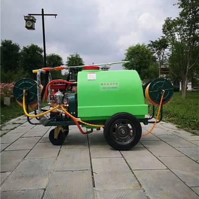 厂家生产四轮高压打药机 果园远距离喷雾器 30加长管12米喷福耐用