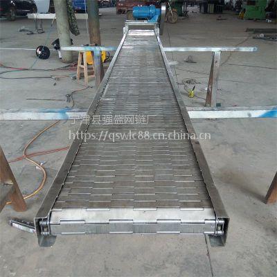 强盛供应 不锈钢链板输送机 食品链板输送机