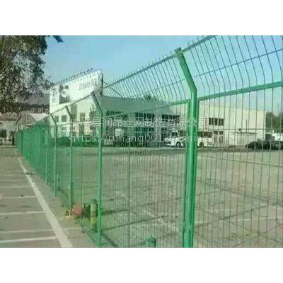 润昂***新报价、现货、框架护栏网、双边丝围栏网、公路围网、Q235优质钢丝网