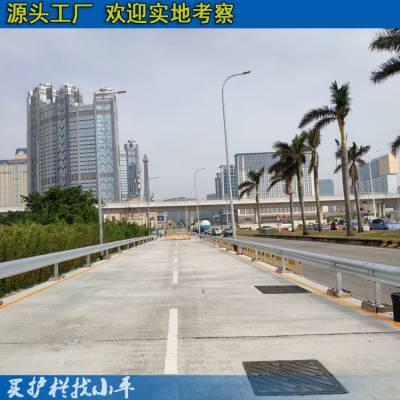 海口公路防撞护栏优质厂家 桥梁波形护栏板现货 海棠省道波形梁护栏