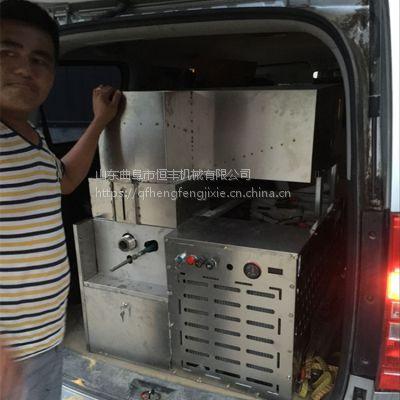 汽油机暗仓玉米膨化机 车载流动小型谷物杂粮食品膨化机