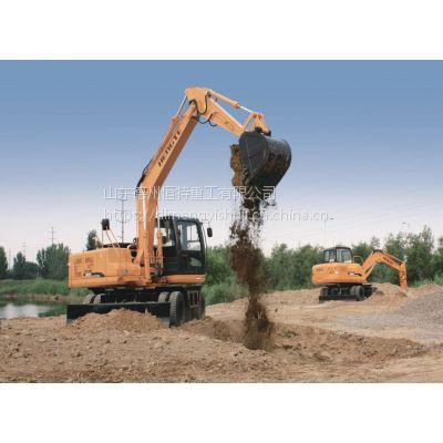 轮挖——恒特轮式挖掘机HT135W