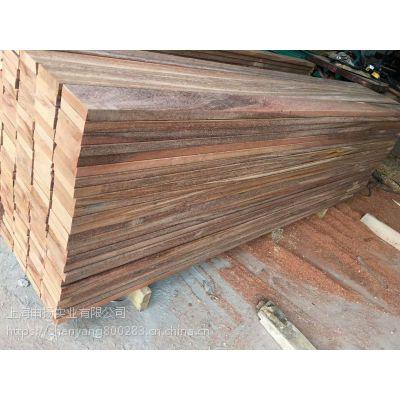 利比里亚红铁木木条方厂家 红铁木古建任意规格加工