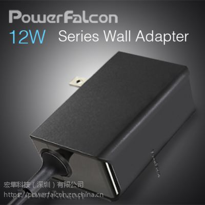 PowerFalcon 12W 插墙电源系列/欧规,美规