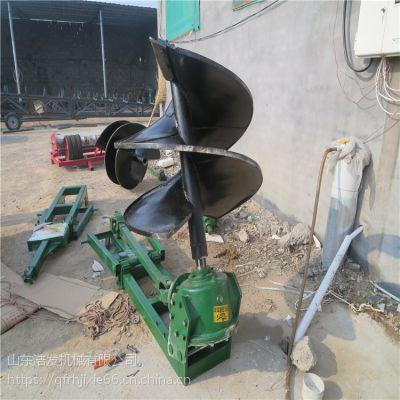 春季开春种植树木佩奇装配 4马力螺旋钻坑机