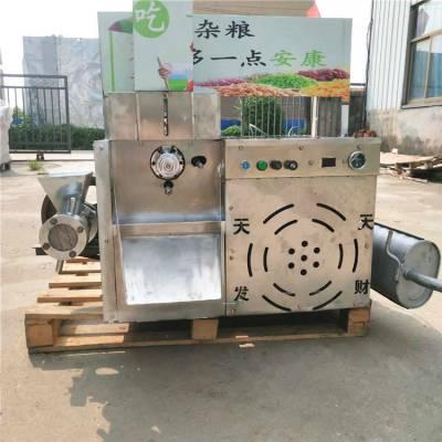 新款杂粮10用型膨化机 小型玉米空心棒专用膨化机