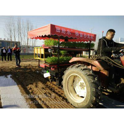 多功能移栽机农民朋友的栽苗神器安全可靠性能稳定宁津田耐尔