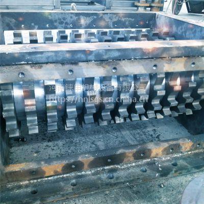供应ls大型废旧汽车撕碎机 铼申废金属破碎机厂家 双轴撕碎机设备