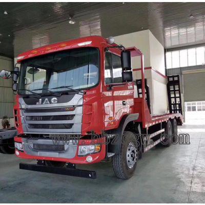 7.5L江淮2.55米宽板平板运输车厂家价格