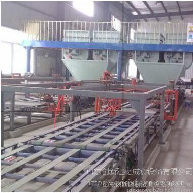 供应山东创新A级匀质板设备价格