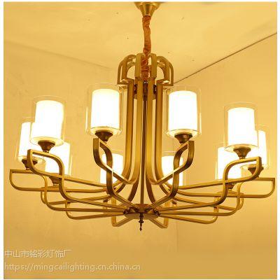 新中式品牌灯具 中式风格灯 会所别墅中式高档灯