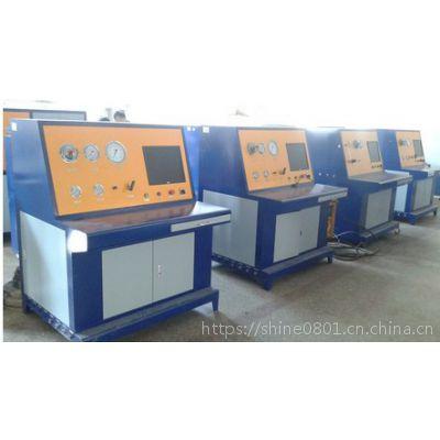 氮氧氩气瓶检测设备 无缝钢瓶检测站装置