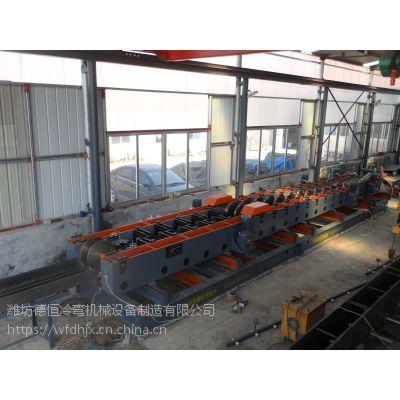 大跨距电缆桥架成型机德恒冷弯机械DHQJ600桥架成型设备
