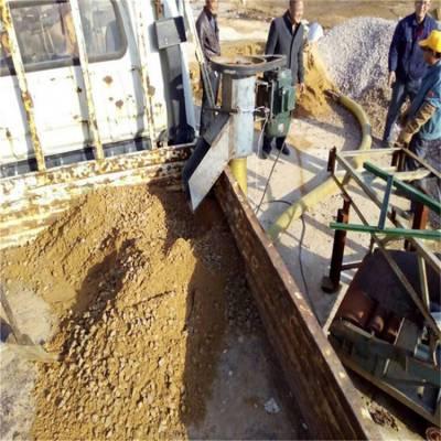 汇众高效率散沙子装车用吸料机 自吸式软管抽沙机