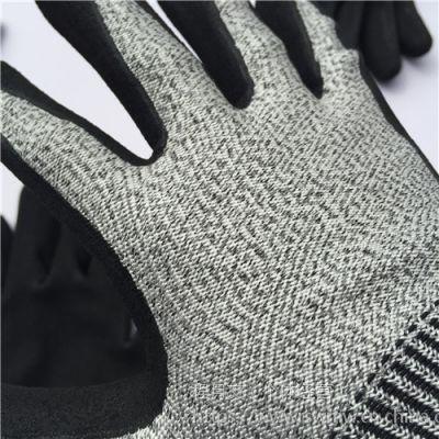 日盛外贸大量低价批发丹尼玛五级防切割手套 防切割劳保手套价格 供应外贸多系列防切割劳保手套厂家