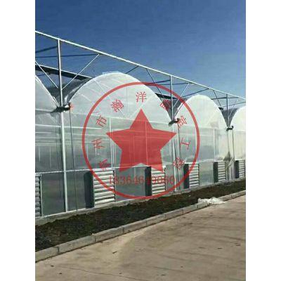 拱形连栋薄膜温室大棚建造厂家——青州瀚洋温室