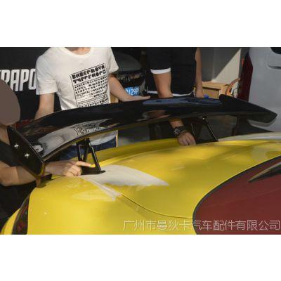 GT大尾翼改装保时捷981卡曼包围 718 boxster加装GT4款尾翼玻璃钢
