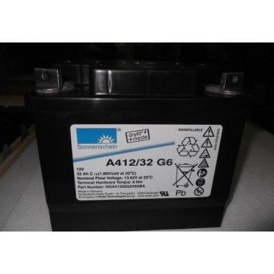 德国阳光A412/180A蓄电池报价参数 检测保养
