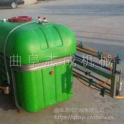 新货供应500升喷杆式后置打药机 悬挂式打药机 四轮车背负式喷雾器