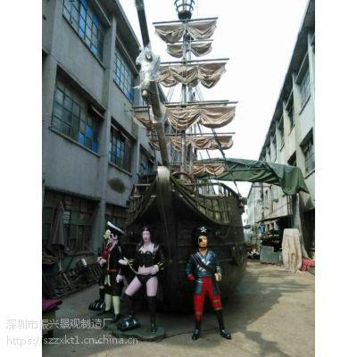 武汉 两头尖木船 观赏花盆木船 摆设小木船(振兴知名造船厂)
