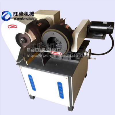 五金工具小型外圆抛光机WL-100不锈钢铝管抛光机单工位380V圆管除锈机