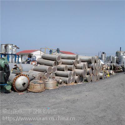 长期回收、销售各式列管式冷凝器,型号齐全,质优价廉