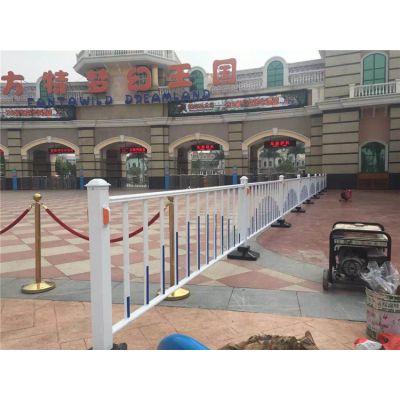 城市中央隔离栏 小区进出口分离栏 大学道路分离栏 机非分离栏