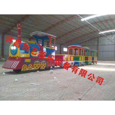 包头市新款小火车轨道车室内室外均可安装运行的游艺设施创艺高品质推出