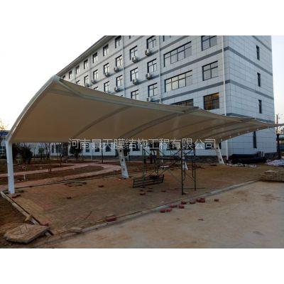河南景天膜结构汽车停车棚厂家定制