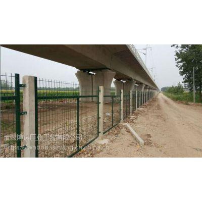 城际铁路线路栅栏.汉孝铁路线路栅栏片.铁路线路金属防护栏片