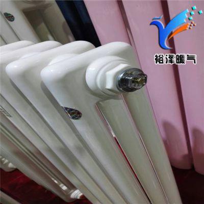 钢三柱暖气片QFGZ303钢三柱散热器裕泽采暖供应