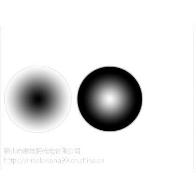 径向渐变中性密度滤光片 激埃特光电可根据客户的需求加工定制