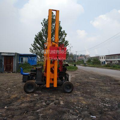公路液压机铲式护栏打桩机有实力的生产厂家