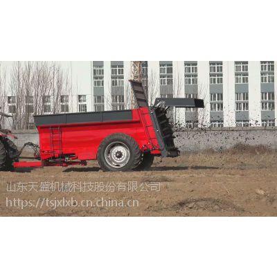 厂家直销有机肥抛洒机 农用洒肥机