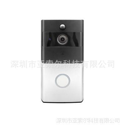 无线摄像头门铃 家用无线可视对讲门铃 猫眼高清摄像头 家用监控