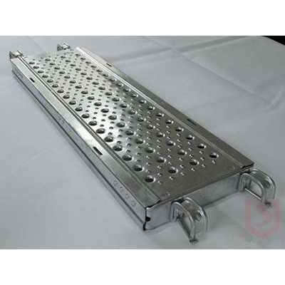 湖南Q235钢跳板价格 盛仕达脚手架配件热镀锌钢跳板