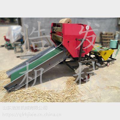 冬季保鲜打捆包膜机 养殖畜牧机械 浩发