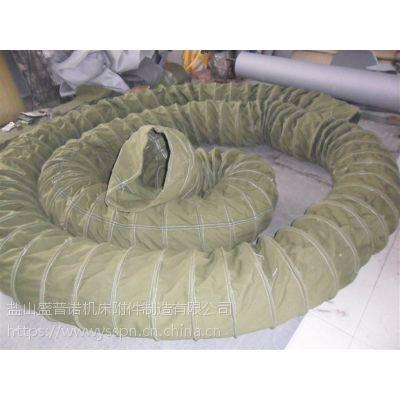 盛普诺厂家直供尼龙矩形耐磨软连接防尘通风软连接